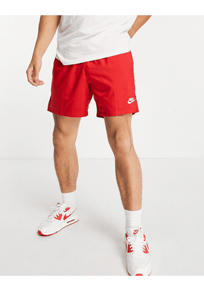 Nike Club woven shorts in red