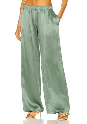 SABLYN Denver Pant in Forest Green - Green. Size L (also in ).
