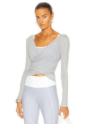 Nylora Darin Top in Cloudy Blue - Baby Blue. Size M (also in ).