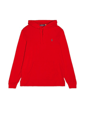 Polo Ralph Lauren Hoodie in Red - Red. Size L (also in M, S, XL).
