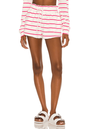 BEACH RIOT Lydia Short in White. Size M, S, XS.