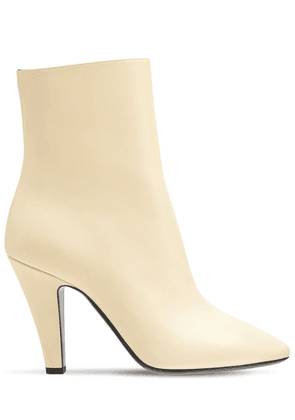 95mm 68 Leather Ankle Boots