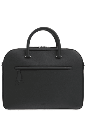 Olympia Grainy Leather Work Bag