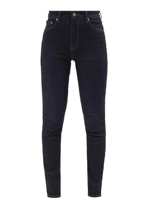 Brock Collection - James High-rise Slim-leg Jeans - Womens - Navy