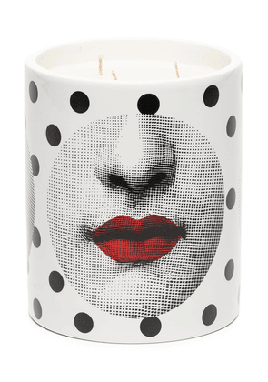 Fornasetti x Comme des Garçons Comme des Forna Otto scented candle (900g) - White