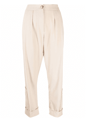 8pm cargo-pocket trousers - Neutrals