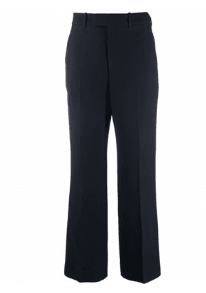Gucci tailored straight-leg trousers - Blue
