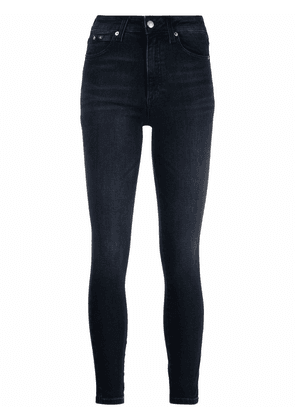 Calvin Klein Jeans high-rise skinny jeans - Blue