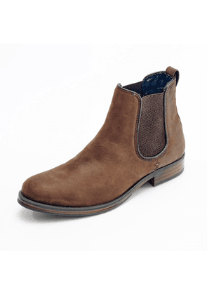 Curito Clothing - Curito Bradwell Men's Oiled Leather Chelsea Boots - Brown
