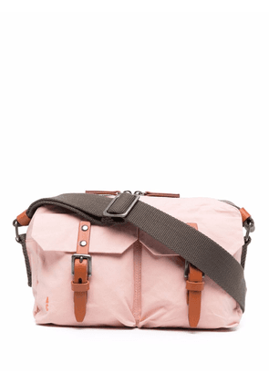 Ally Capellino two-way zip messenger bag - Pink