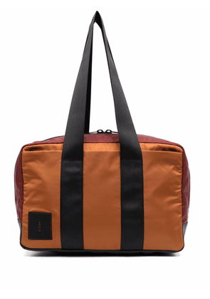 Ally Capellino logo-patch holdall - Green