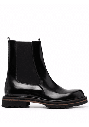 Fratelli Rossetti high-shine leather Chelsea boots - Black