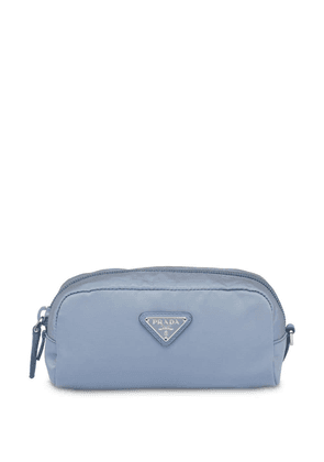 Prada cosmetic make up pouch - Blue