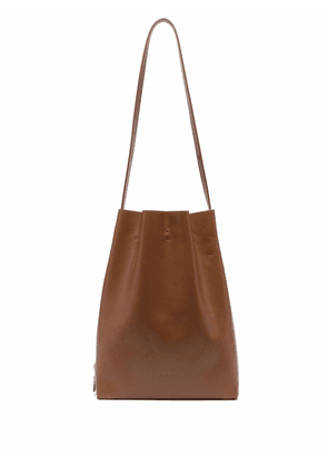 Aesther Ekme marin leather tote bag - Brown