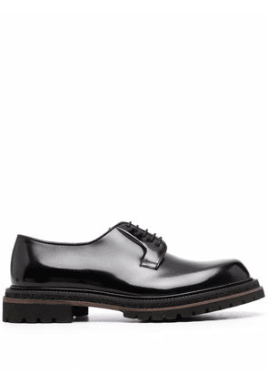 Fratelli Rossetti leather Derby shoes - Black