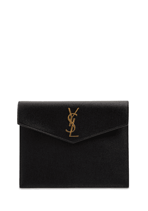 Uptown Small Leather Envelope Pouch