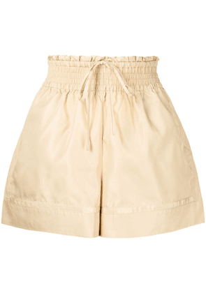 3.1 Phillip Lim high-waisted A-line shorts - Yellow