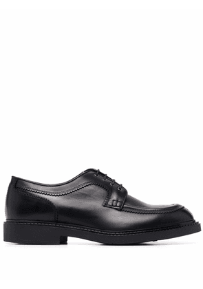 Fratelli Rossetti round-toe leather loafers - Black