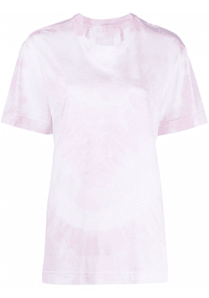 Givenchy tie dye-print short-sleeved T-shirt - White