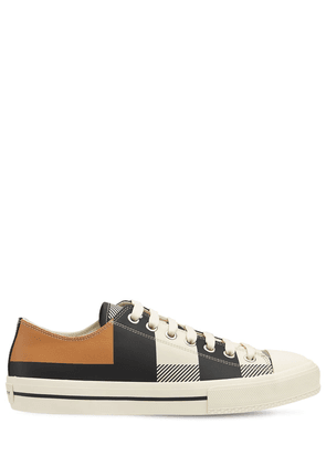 Larkhall Leather Low Sneakers