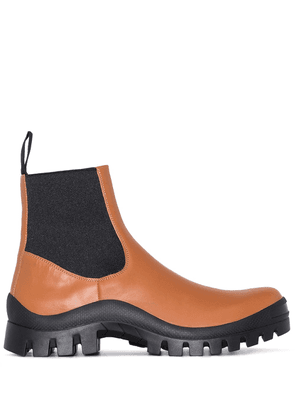 ATP Atelier Catania ridged sole boots - Brown