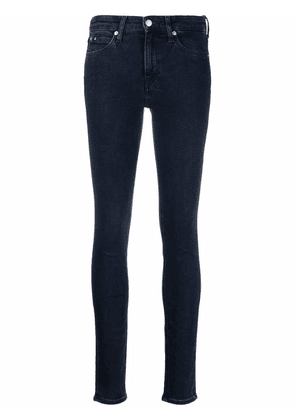 Calvin Klein Jeans mid-rise skinny jeans - Blue