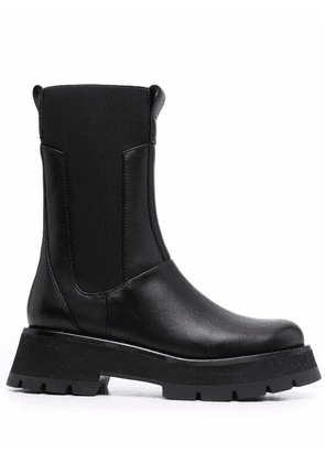 3.1 Phillip Lim chunky-sole leather boots - Black