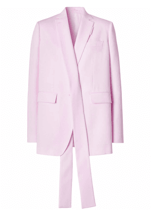 Burberry exaggerated-lapel blazer - Pink