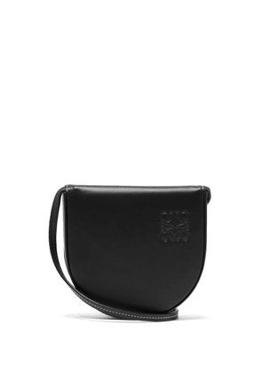 Loewe - Heel Small Leather Pouch - Mens - Black