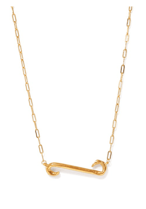 Alighieri - The Burning Stream In The Sky Gold-plated Necklace - Womens - Gold