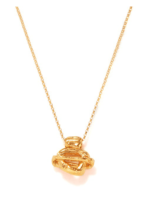 Alighieri - The Light Years 24kt Gold-plated Necklace - Womens - Gold