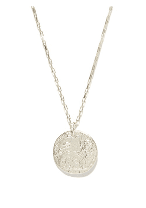 Alighieri - The Snow Lion Sterling-silver Necklace - Mens - Silver
