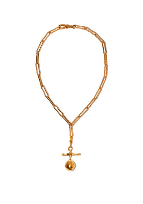 Alighieri - L'aura Chapter Iii 24kt Gold-plated Necklace - Womens - Yellow Gold