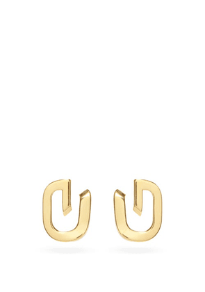 Givenchy - G Link Earrings - Womens - Yellow Gold