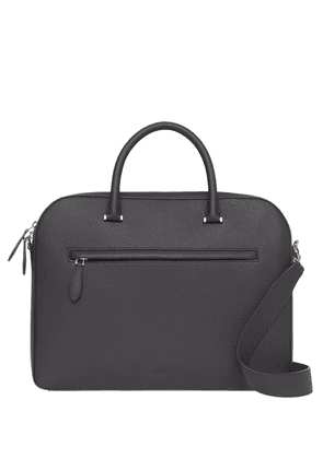 Burberry Olympia grained briefcase - Black