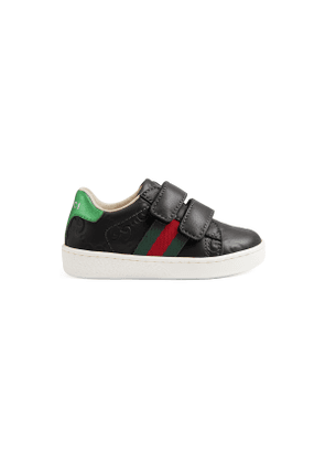 Toddler Ace Gucci Signature sneaker
