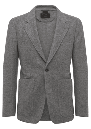 Felted Cashmere & Wool Jersey Jacket
