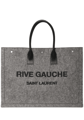 Large Rive Gauche Leather Tote