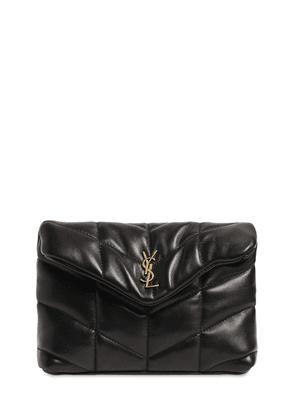 Loulou Small Puffy Leather Pouch