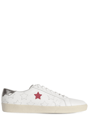 Stars Leather Low Top Sneakers