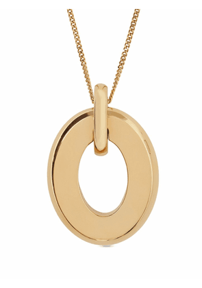 Burberry cut-out detail necklace - Gold