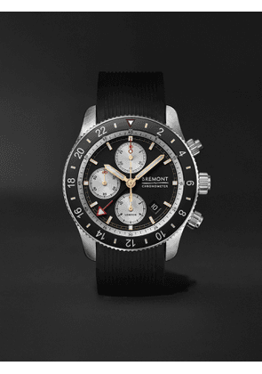 Bremont - Supermarine Sport Automatic Chronograph 43mm Stainless Steel and Rubber Watch, Ref. No. S200 - Men - Black