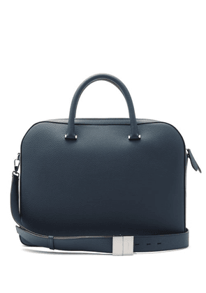 Burberry - Olympia Leather Briefcase - Mens - Blue