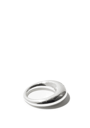 All Blues - Snake Thick Sterling-silver Ring - Womens - Silver