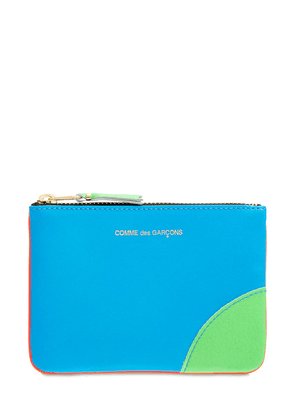 Super Neon Leather Wallet