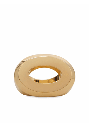 Burberry cut-out detail ring - Gold