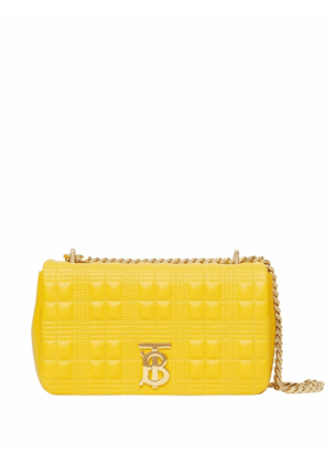 Burberry Lola quilted clutch - Yellow