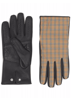 Burberry Vintage Check gloves - Brown