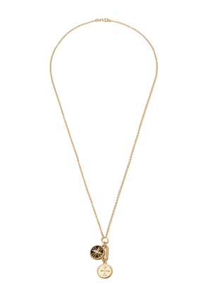 Foundrae 18kt yellow gold Course Correction Dream diamond necklace