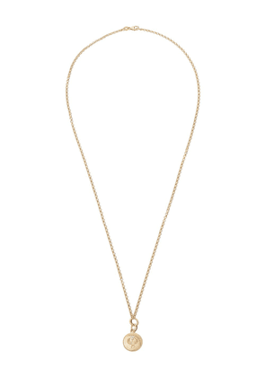 Foundrae 18kt yellow gold Belcher Protection necklace